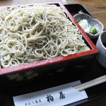 Kashiwaya - もりそば750円+大盛り210円