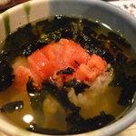 とりまさ - ☆〆に明太子茶漬け食べましたぁ(*^。^*)☆