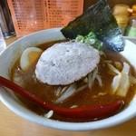 サッポロ香蘭 - 味噌ラーメン(赤みそ)700円