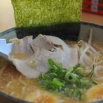 にんたまラーメン - 叉焼の様子
