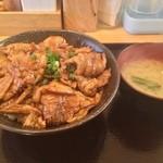 白樺 - 豚バラ丼