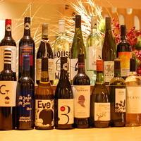本かつ喜 - オーストラリア産やニュージーランド産を中心としたワインもご用意。ブランド豚とのマリアージュ。