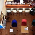 EMPORIO cafe&dining - 2階の吹き抜けからの景色♪