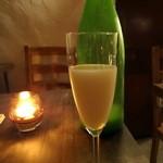 17288250 - 三芳菊「クリーミー発泡」900円+税