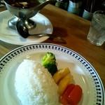 エアーフラッシュ - 牡蠣カレー \1050