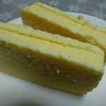 チーズケーキ 横井 - 切ってみた所