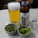志のざき - 生中とノンアルコールビール