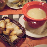 17289282 - ゴルゴンゾーラのチーズフォンデュ