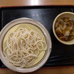 鴻巣うどん てらや - 肉汁うどん(並450円)_2009-06-21