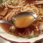 龍華 - アッサリとしていながら、塩味のパンチが効いているトリガラスープ