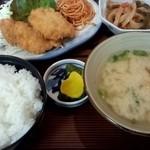 17290196 - 日替わり定食(チキンカツ)