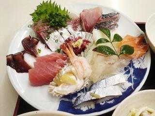 水産食堂 - 刺身(2010.2)