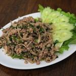 ビアタイ - 2013.2 ラープ・ムー(1,000円)豚肉辛口サラダ