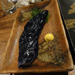 本格九州料理と厳選焼酎 個室居酒屋 旬の蔵 - なすの浅付け