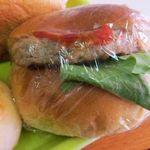 ナカムラヤパン - ハンバーグサンド