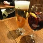 17292837 - ハートランドビール550円サングリアグラス500円