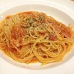 ガスト - トマトソースのスパゲティ