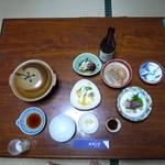 旅館かめや - 料理写真:夕食