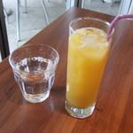 ラバーマ - セットドリンク:オレンジジュース♪
