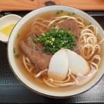 田そば  - 田そば(中)630円