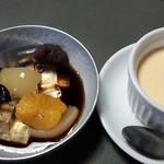 日本料理 うめ野 - ランチのデザート(どちらか)
