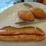 ラザレ - カリカリ具沢山カレーパン、ふくやのやみつき明太フランス
