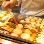 おぐ羅 - 醤油を一滴も使わない、関西風の出汁。