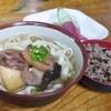 新山そば - 料理写真:定食