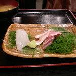 Tsunokuniya - 津国屋 ランチ刺身定食