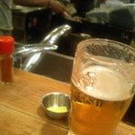 てっちゃん - ビール!