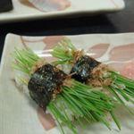 あびる寿司 - 芽ねぎ