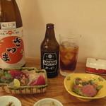 小石川 かとう - 一人飲みセット(^^ゞ