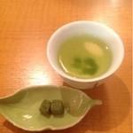 17301407 - 朝露と言う煎茶と抹茶の生チョコ