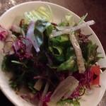 ノンノン - ランチのサラダ