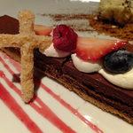 アートレストラン キリストン バー - (o>ω<o)キリストンガーデン:680円:十字架が可愛かったです♪
