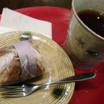 17305901 - 苺ワッフルと紅茶