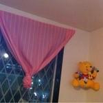 ドックン - ピンクのカーテン