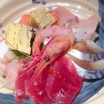 月の坊 - 海鮮丼