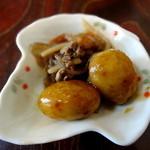 大阪屋 - じゃが芋の甘辛煮