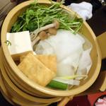 17314539 - くぐり鍋(野菜)