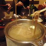 17314592 - くぐり鍋(そば)