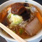 珍満賓館 - <2013/02/14>野菜入り味噌ラーメン