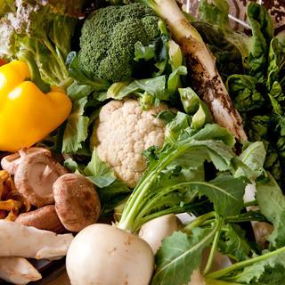 全て有機野菜にこだわっております!!
