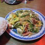 うるま島 - 料理写真:ゴ~ヤチャンプル~800円
