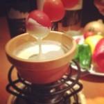 焼き鳥と野菜串のCOCOZO - チーズフォンデュで召し上がれ!野菜串!