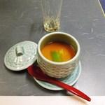 Japanese restaurant chihiro - 白子の茶碗蒸し