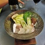 Japanese restaurant chihiro - クエ鍋