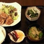 季りとおし - 鶏の照り焼き定食(日替わり)