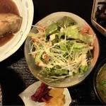 季りとおし - カレイの煮付け定食(日替わり)