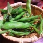 maguroyakitorisuda - 枝豆